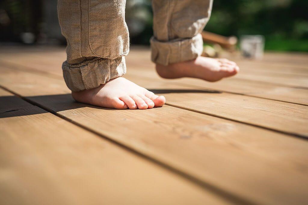 Terasos lentos iš termo medienos Klasika SG