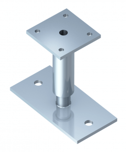 Stainless Steel Posts Supports Edstahl 300 - 400