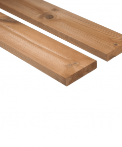 Decking Boards From Thermo-Treated Spruce D4