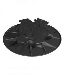 Adjustable Deck Pedestals JustiFix ll JK 50 - 160